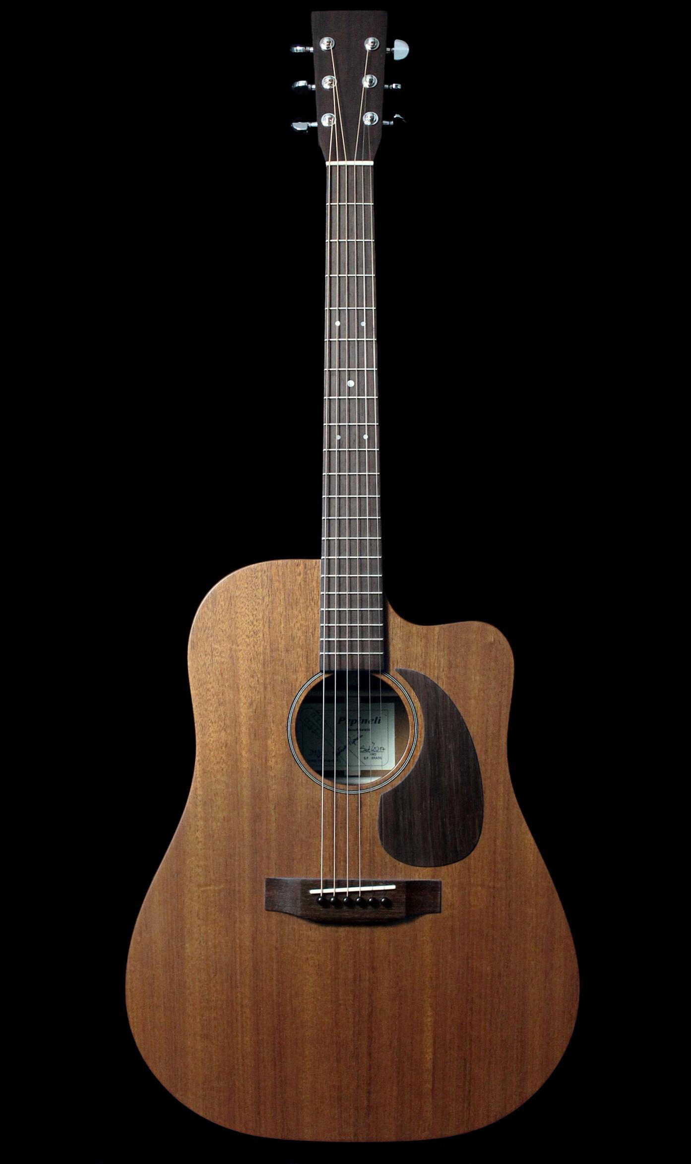 Violão Folk Mogno Pepineli Luthier